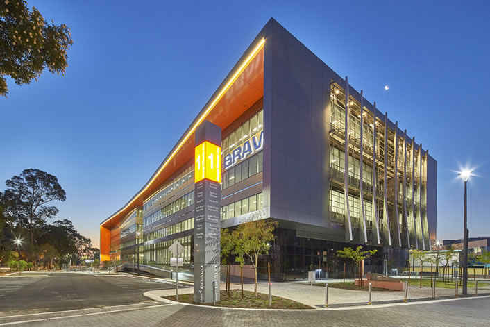 Bravo Building Perth Airport